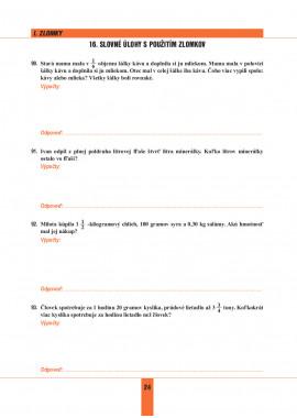 MATEMATIKA 7 - pracovný zošit