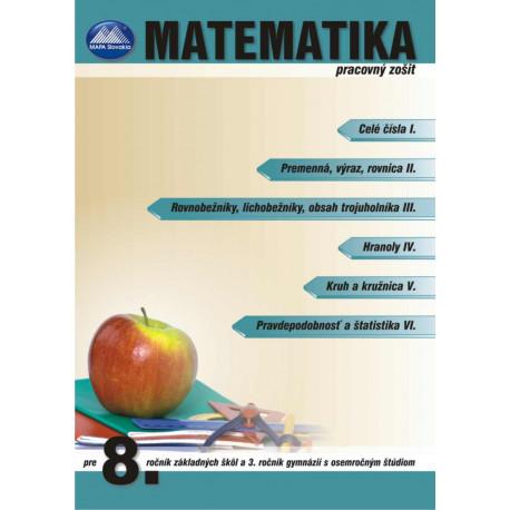 MATEMATIKA 8 - pracovný zošit