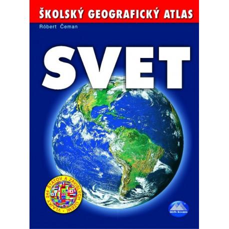 ŠKOLSKÝ GEOGRAFICKÝ ATLAS - SVET