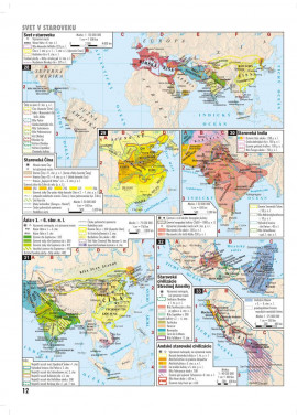 DEJEPISNÝ ATLAS - Štáty v premenách storočí