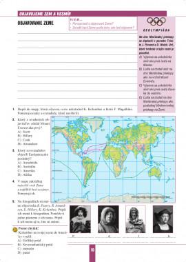 Geografia 5 - pracovný zošit s miniatlasom
