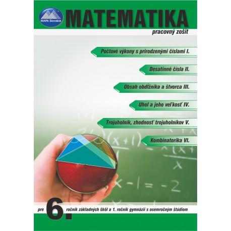 MATEMATIKA 6 - pracovný zošit