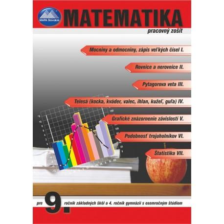MATEMATIKA 9 - pracovný zošit