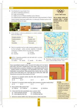 Geografia 6 - pracovný zošit s miniatlasom
