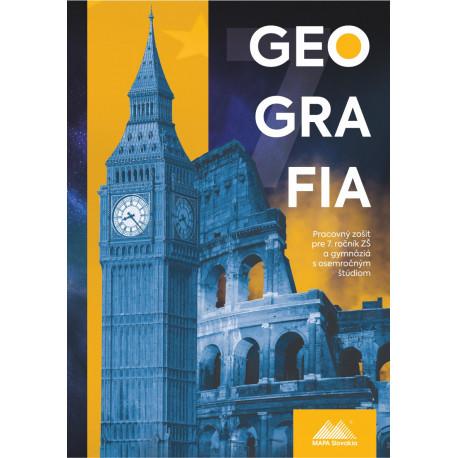 GEOGRAFIA 7 - pracovný zošit s miniatlasom