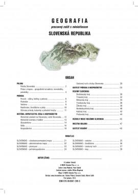 GEOGRAFIA 8 - pracovný zošit s miniatlasom